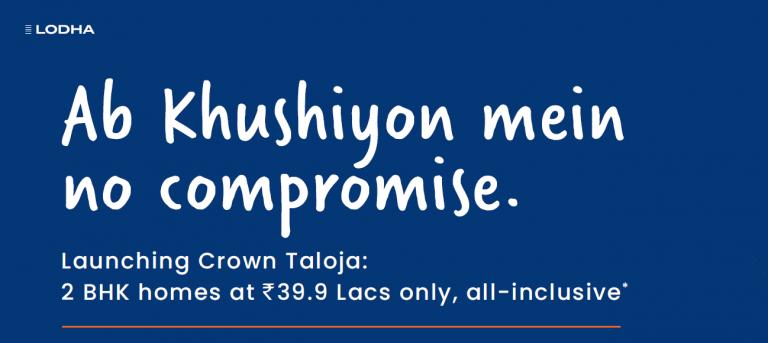 Crown Taloja 2bhk for sale
